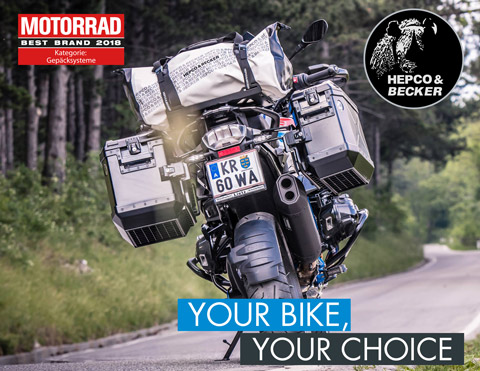 Motorcycle parts from Hepco&Becker - Official Onlineshop